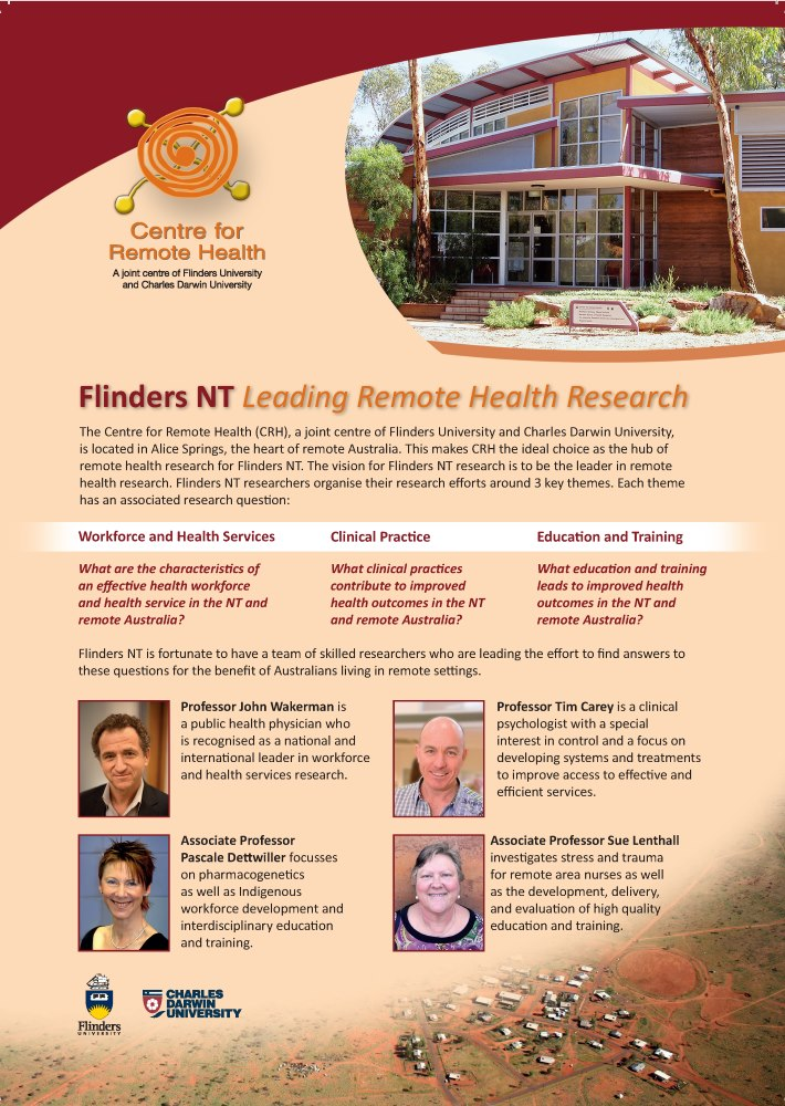 Flinders NT Research
