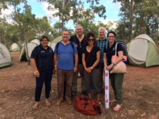 Flinders University staff at the Garma Festival