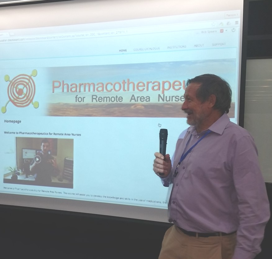 Professor Rick Speare's Pharmacotherapeutics Presentation