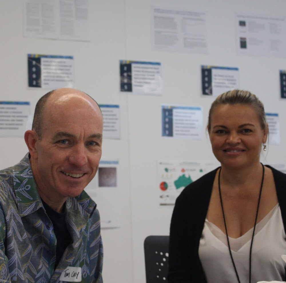 Professor Tim Carey and Tanja Hirvonen, Centre for Remote Health